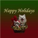 Eskie Holiday Bear Basket