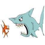 1660 Shark Eating