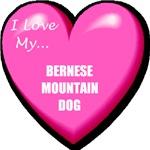 I Love My Bernese Mountain Dog