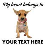 Personalized Chihuahua T-Shirts