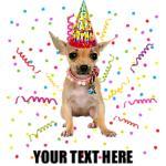 Personalized Chihuahua Birthday