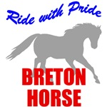 Ride With Pride Breton Horse
