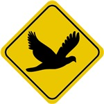 Dove Crossing Sign