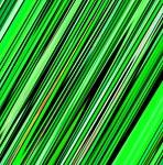 Green Diagonal Stripes