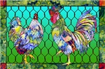 rooster & hen