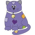 Purple Cloth Cat