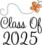 Class of 2025 Butterfly Graduate Gifts & Tees