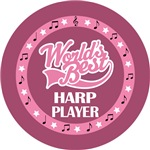 HARP PLAYER (Worlds Best) T-SHIRT GIFTS