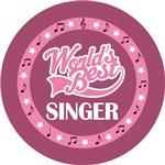 SINGER (Worlds Best) T-SHIRT GIFTS
