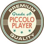 Piccolo Player T-shirts (Premium Quali