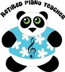 Retired Piano Teacher Music Panda Gifts