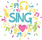 Sing Choir Music Shirts and Gift Items