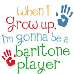 Future Baritone Player Kids Music Tees