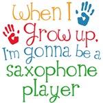 Future Saxophone Player Kids Music Tees