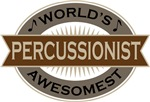 Percussionist (World's Awesomest) Tshirt Gifts