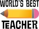 Worlds Best Teacher gifts and mugs
