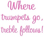 Trumpet Treble T-shirts and Gifts