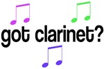 Got Clarinet T-shirts And Gifts