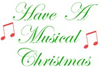 Have A Musical Christmas T-shirts