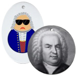 Classical Music Composers Christmas Ornaments