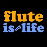 Flute Is My Life T-shirts