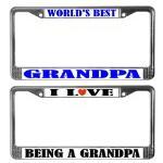 Grandpa License Plate Frames