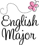 Cute English Major T-shirts and Hoodies