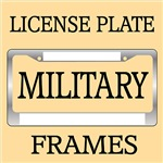 MILITARY FAMILY SUPPORT AND PRIDE LICENSE FRAMES