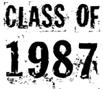 Grunge Class Of 1987 Reunion T-shirts