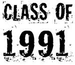 Grunge Class Of 1991 Reunion T-shirts