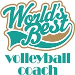 WORLD'S BEST VOLLEYBALL COACH T-SHIRTS