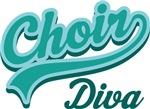 Funny Choir Diva T-shirts