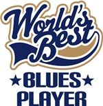 Worlds Best Blues Player T-shirs