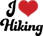 I Heart Hiking T-shirts and Gifts