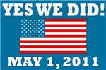 Yes We Did May 1 2011