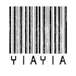 YiaYia Barcode
