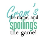 Gram's the Name!