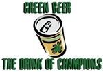 Green Beer: The Drink of Champions