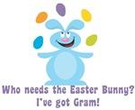 Easter Bunny? I've got Gram!