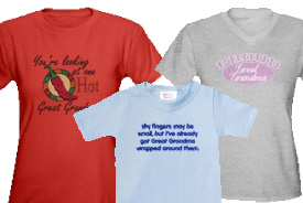 Great Grandma Gifts and T-Shirts