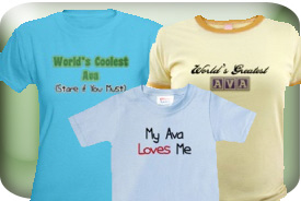Ava Gifts and T-Shirts