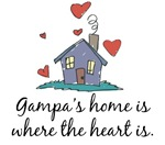 Gampa's Home is Where the Heart Is