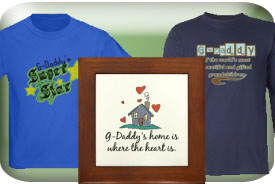 G-Daddy Gifts and T-Shirts