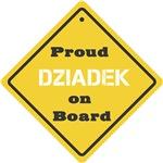 Proud Dziadek on Board
