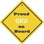 Proud GiGi on Board