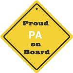 Proud Pa on Board
