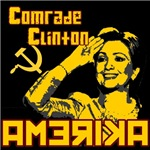 Comrade Clinton Red Shirts