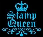 Stamp Queen Blue