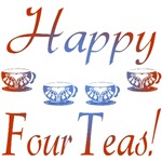 40th Birthday Gifts, Happy 4 Teas!