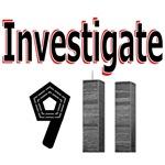 Investigate 911 Tshirts